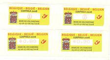 BELGIQUE TIMBRES DE DISTRIBUTEURS LUXPHILA  2008 N° 71 **