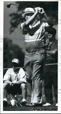 1992 Press Photo Golfer Miller Barber at The Dominion Vantage Tournament