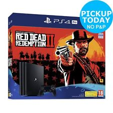 Sony PS4 Pro 1TB Console & Red Dead Redemption 2 Bundle