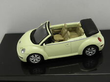 AUTOart 59754 Sammelmodell  VW NEW BEETLE CABRIOLET Mellow-Gelb M. 1:43