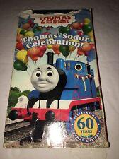Thomas & Friends VHS 2004 Sodor Celebration! Video Tape Train Tank Engine TESTED