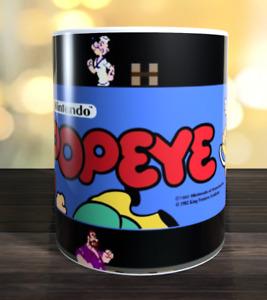 Popeye retro arcade game Marquee Mug
