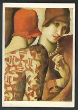 Tamara De Lempicka : Les deux Amies - cartolina del 1992 - tiratura 1000 ex.