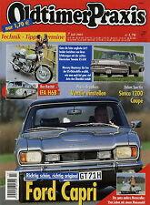 Oldtimer Praxis 2003 7/03 Ford Capri 2600GT Maico Mobil Yamaha XS650 Simca 1200S
