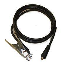 MMA, MIG Welding Earth Cable Lead 200A 35-50 DINSE (12mm Dia Lug) 3m Length