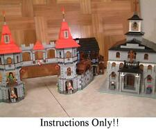 GET 100+ CUSTOM LEGO  INSTRUCTIONS like Medieval Church - 7946 King's Castle