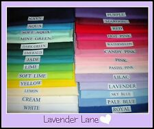 TODDLER PILLOWCASES - NEW - MADE TO MEASURE - 26 COLOURS - FREE POSTAGE - $7