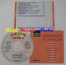CD EMOZIONI MUSICA esperimenti canzoni EUGENIO BENNATO OSANNA CIRCUS (C12)