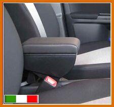 BRACCIOLO PREMIUM per Fiat Sedici + portaoggetti IN SIMILPELLE COLORE NERO
