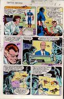 1979 Captain America 238 page 7 Marvel Comics color guide art: 1970's/Nick Fury