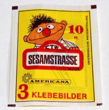 Americana 1978 Sesamstrasse Sésame Street 1 X Sac en Papier Paquet Bustina Rare