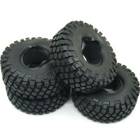 """4Pcs 1.9"""" Rubber Rock Crawler Tire tyre 114mm For RC 1/10 Truck Axial D90 SCX10"""