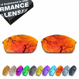 ToughAsNails Polarized Replacement Lenses for-Oakley Flak Jacket Sunglasses-Opts