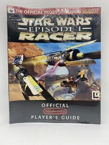 Star Wars Episode 1 Racer Official Pilots Guide Nintendo Power Brand New Rare 64