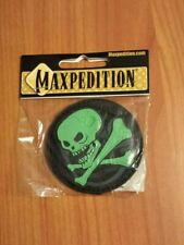 Skull Morale Patch maxpedition SKULZ glow in the dark hook and loop patch PVC