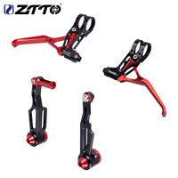 ZTTO Folding Bicycle V Brake Lever V-Brakes Caliper Super light Bike Brake Set