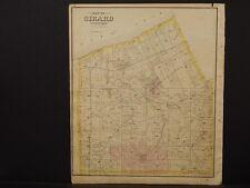 1797 PA MAP Flourtown Frackville Freeland Girard Pennsylvania History   SURNAMES