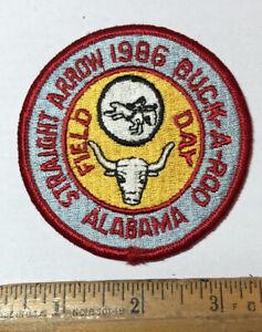 Vintage 1986 Royal Rangers Straight Arrow Buckaroo Field Day Patch Alabama