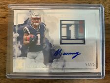 2019 Panini Impeccable N'Keal Harry Rookie Numbers Patch Autograph #/75 RC Auto
