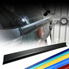 For Audi A4 S4 B6 4D Sedan L Style Trunk Lip Spoiler Wing Quattro Paint Color