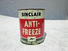 RARE Vintage Sinclair Anti-Freeze 1 GALLON Can / Unopened