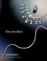 Vintage Sotheby's Auction Catalog Fine Jewelry Amsterdam May 27 1997 m933