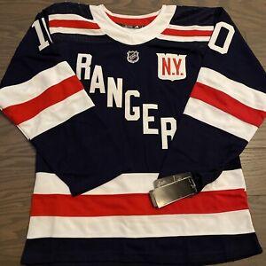 NWT New York Rangers 2018 Winter Classic Sewn Jersey J.T. Miller Small Rare