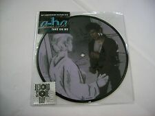 """A-HA - TAKE ON ME - 7"""" PICTURE VINYL BRAND NEW RSD 2015"""
