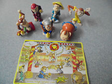 Kinder Surprise toys Schim Banzai Karate Monkeys 2006 with papers