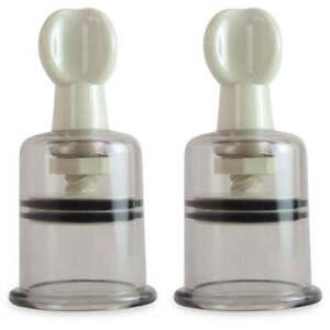 Vacuum Cupping LeLuv MAXTwist Large 3.9 cm Nipple PAIR
