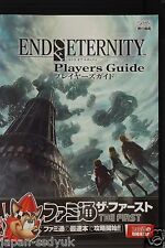 JAPAN Resonance of Fate End of Eternity Players Guide book