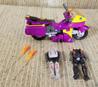 Transformers Armada Super-Cons: SIDEWAYS w/ CROSSWISE & Rook from 2002 COMPLETE!