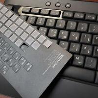 Korean Keyboard Sticker 2 in 1 black sticker for laptop and regular keyboard.