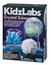 Crystal science grow your own crystal experiment kit by 4M Kidzlabs Toysmith