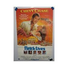 FLETCH LIVES Chevy Chase Original Vintage Home Movie Video Poster