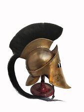 300 SPARTAN HELMET KING LEONIDAS MOVIE REPLICA HELMET MEDIEVAL HELMET GIFT ITEM