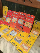 French Vintage Michelin Maps
