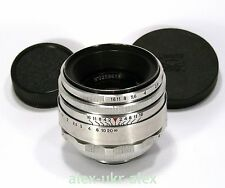 Helios-44 lens 2/58 mm 13 blades for old SLR Zenit M39 mount.№0209618.Exc