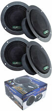 "4x Sealed Back 4"" 1200W Mid Range Car Audio Speaker Power Acoustik Xps-104"