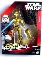 Figurine Toy Toys Super Hero Mashers Star Wars C-3po New Hasbro