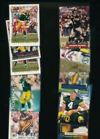 Mixed Topps Upper Deck Fleer Brett Favre Packers Lot of 18