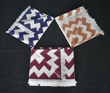 Handmade Accent Cotton Chevron Modern 3x5 Feet Area Rug