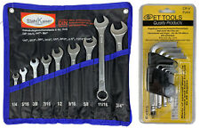 Doppelgabelschlüssel Maulschlüssel Satz SW Stahl 01-110-WB Gabelschlüssel Set
