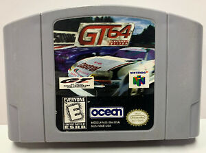 GT Chamionship Edition Nintendo 64 Authentic NTSC Cartridge Only N64 By Ocean