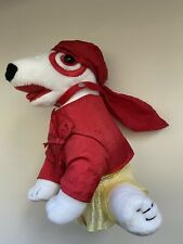 Target Bullseye Plush Stuffed Dog - Red Pirate with Durag - Dated 2005 - RARE?