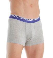 $45 Michael Kors Underwear Men Gray Mk Cotton Stretch Boxer Brief Trunk Size L