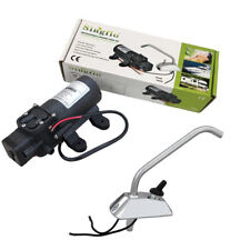 12V Galley Electric Water Pump Tap Faucet KIT Caravan Boat Fast Free Ship AU