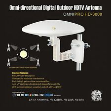 LAVA HD-8000 OmniPro HD8000 Indoor Outdoor Analog Omni-Directional HD TV Antenna