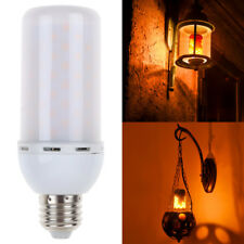 LED E27 5W Flicker Flame Fire Effect Light Bulb Warm White Halloween Decor Lamp