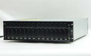 NETAPP DS14MK2 14-BAY FC FIBRE STORAGE DISK ARRAY SHELF 12*320GB HDD 4TB AT-FC2